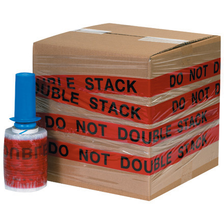 "5"" x 80 Gauge x 500' ""DO NOT DOUBLE STACK"" Goodwrappers<span class='rtm'>®</span> Identi-Wrap"